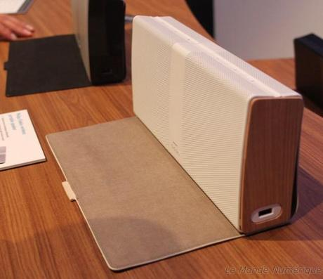 IFA 2012 : Philips lance une enceinte sans fil compacte, la Fidelio Wireless Portable Speaker