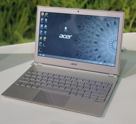 IFA 2012 : Acer lance officiellement son Ultrabook Aspire S7