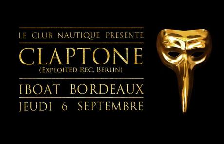Claptone - Club Nautique à l'I.Boat Bordeaux - Artwork by Electrocorp