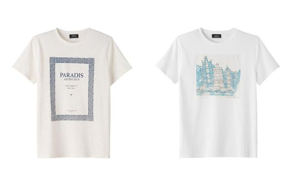 A.P.C. – F/W 2012 – MUSIC BAND T-SHIRTS