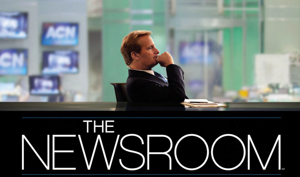 newsroom 1024x606 THE NEWSROOM   A LABORDAGE DU JOURNALISME POLITIQUE