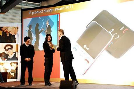 IF Design remise prix LG s100