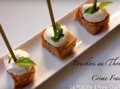 Bouchées Thon Crème Fraiche