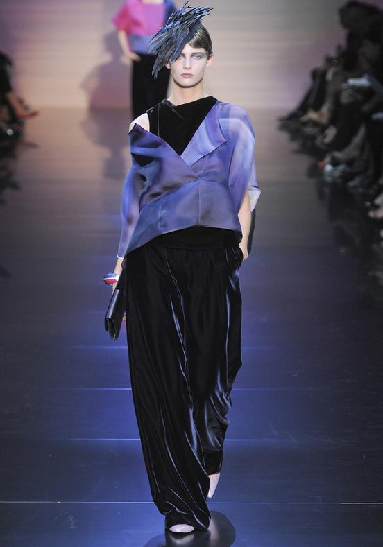 fashion week f/w 12/13. Armani Privé