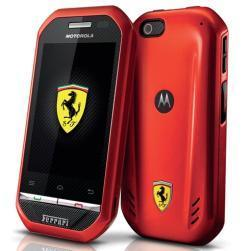Motorola Ferrari i867 – Un smartphone de luxe ou une blague…