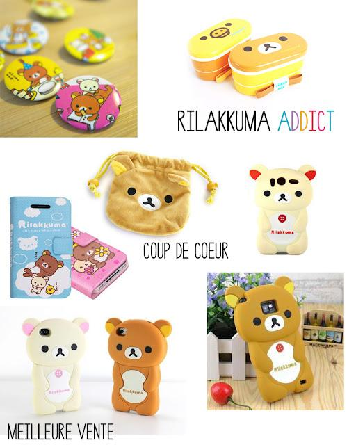 Shopping List : Rilakkuma Addict