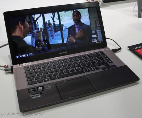 IFA 2012 : Toshiba Satellite U840W, l'Ultrabook format 21/9