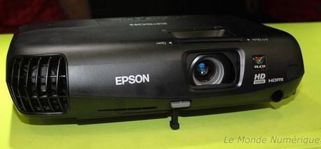 IFA 2012 : Nouveau vidéoprojecteur Epson EH-TW550 3D Ready 720p