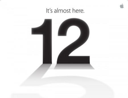 iPhone 5 : Apple vous donne rendez-vous le 12/09