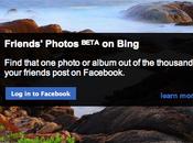 Facebook: recherchez photos amis Bing