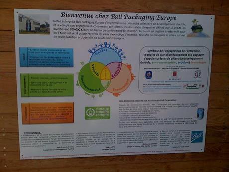 Ball Packaging Europe: La petite usine dans la prairie!