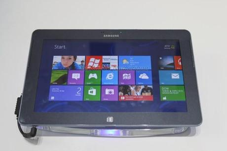 IFA 2012 : Samsung lance la tablette tactile ATIV Tab sous Windows 8
