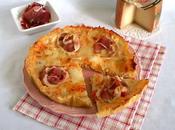 Quiche jambon Bayonne tomme brebis piment d'Espelette