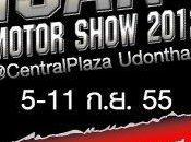 septembre 2012: ISAN Motor Show 2012 Udonthani
