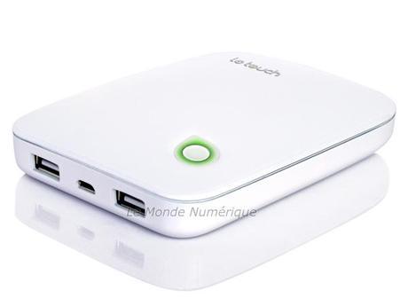 Une batterie externe 7000 mAh pour recharger tous vos appareils mobiles