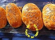 petits pains fourrés poisson, crevettes, tartinade d'olives