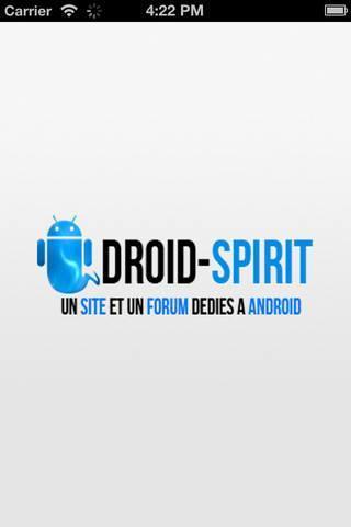 Droid-Spirit – L'application du site pour nous suivre !