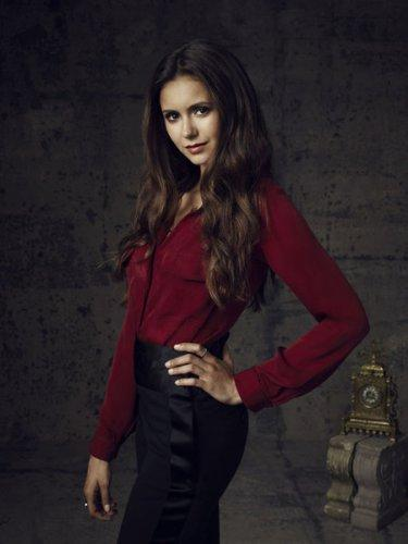 THE VAMPIRE DIARIES Pictured: Nina Dobrev as Elena. Image Number: VD4_Nina_Canvas_3271r.jpg. Photo Credit: Justin Stephens/The CW. © 2012 The CW Network, LLC. All rights reserved.