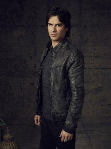 THE VAMPIRE DIARIES Pictured: Ian Somerhalder as Damon. Image Number: VD4_Damon_Canvas_3888rb.jpg. Photo Credit: Justin Stephens/The CW. © 2012 The CW Network, LLC. All rights reserved.