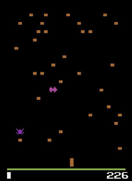 Centip re Les meilleurs jeux vidéos vintages jouables  sur le Net.