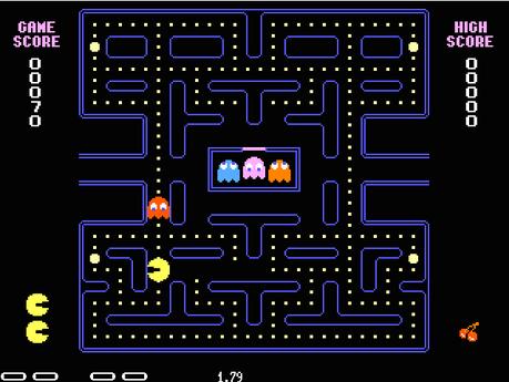 Pacman Les meilleurs jeux vidéos vintages jouables  sur le Net.