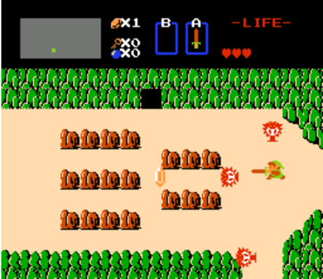The%20legend%20of%20Zelda%20Nes Les meilleurs jeux vidéos vintages jouables  sur le Net.