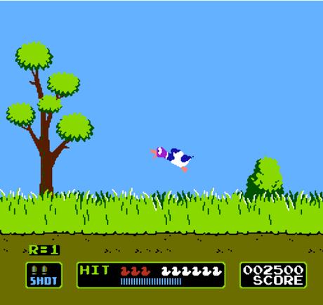Duck%20Hunt%20Nes Les meilleurs jeux vidéos vintages jouables  sur le Net.