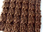 Point facile tricot: point gaufrette
