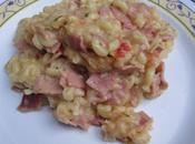 coquillettes sauce jambon