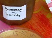 Confiture bananes vanille