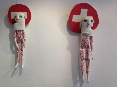 """Galerie""""Goutte de Terre"""" exposition ELSA ALAYSE """"décors d'intérieurs"""""""