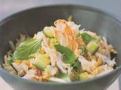 Crabe salade Thaï