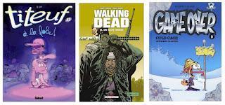 Meilleures ventes BD & mangas hebdomadaires au 9 septembre 2012