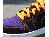Jordan Phat Black Purple Orange Green