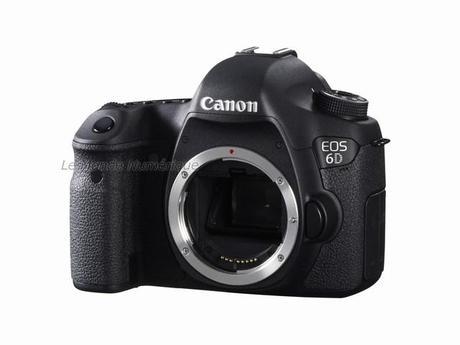 Canon lance l'appareil reflex plein format compact et léger EOS 6D avec Wi-Fi et GPS