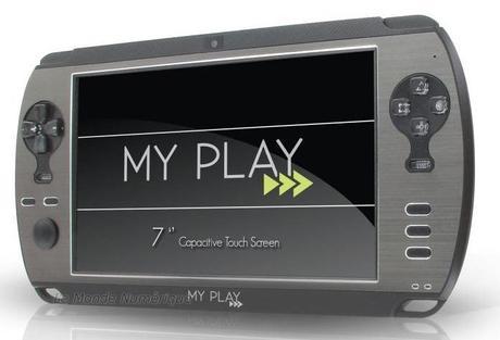 My Play DEA tablette ou console de jeu portable 7 pouces sous Android