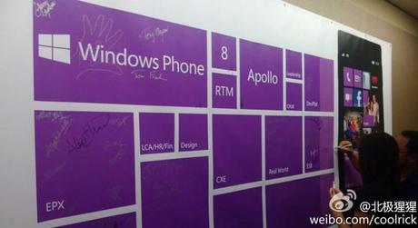 Windows Phone 8 livré aux fabricants
