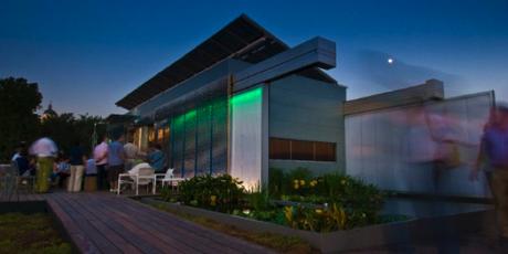 Une maison écologique qui tourne sur elle-même