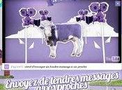 vache Milka fête ans...