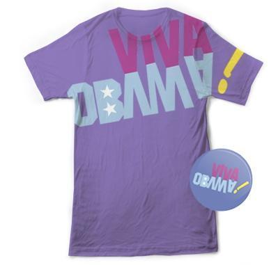 Obama 2012 : Beyoncé &co; lancent une ligne de vêtements pour le soutenir !