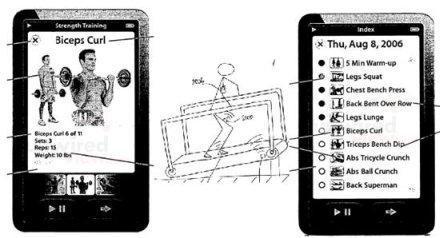 iphone brevet sport musculation