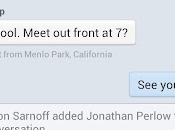Facebook Messenger mettent jour