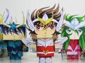 Paper Toys Saint Seiya