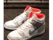 Nike WMNS Dunk High Skinny White Leopard