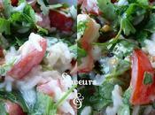Salade Tomates, Coriandre Lait Fermenté!