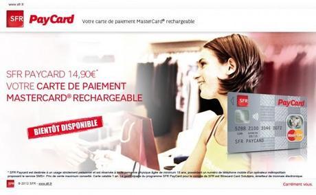 SFR PayCard : au coeur de l'e-commerce et facturation Google play