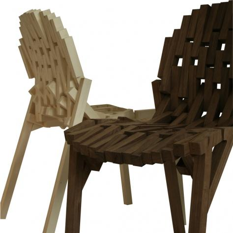 FRAME CHAIR BY DAVIDE GALLO