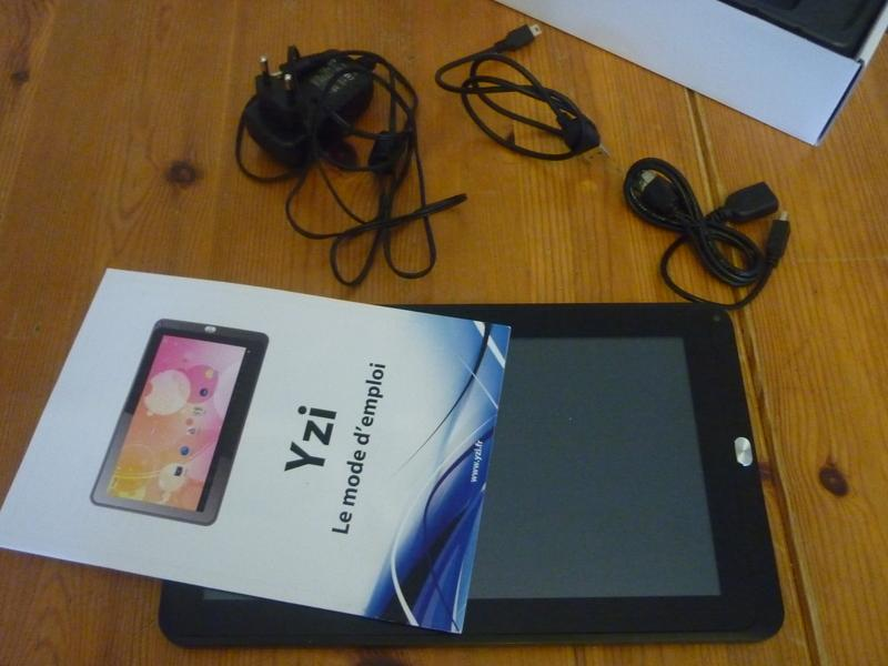 [TEST] Evigroup YZI, la tablette low-cost made in France