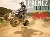 YAMAHA MOTOR FRANCE offre financement inédite Quads Yamaha pour l'Automne 2012