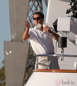 Photos : Leonardo DiCaprio joue au millionnaire sur le tournage de The Wolf of Wall Street …